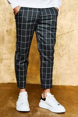 boohoo Check Tailored Pants