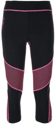 Fendi cropped Karl print leggings