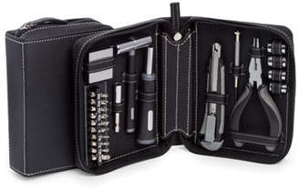 Bey-Berk 22-Piece Tool Set with Leather Case
