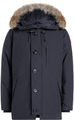 Canada Goose Chateau Down Parka with Fur-Trimmed Hood