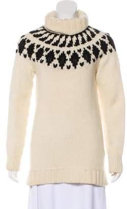 Moncler Wool Mock Neck Sweater