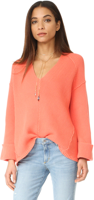 Free People La Brea Sweater $108 thestylecure.com