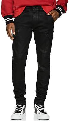 Amiri Men's Coated Denim Cargo Pants