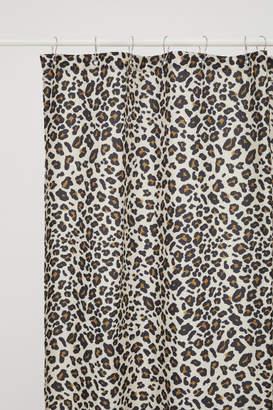 H&M Leopard-print Shower Curtain - Brown