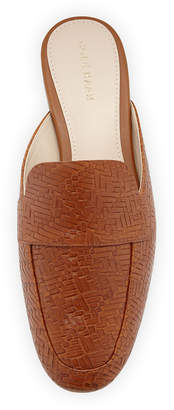 Cole Haan Delcie Woven Loafer Mules