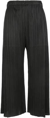 Pleats Please Issey Miyake Cropped Trousers