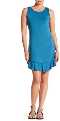 Max Studio Ruffled Hem Dress