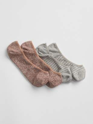 Gap Mix No Show Socks (2-Pack)