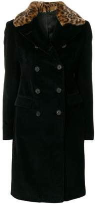Tagliatore corduroy double breasted coat