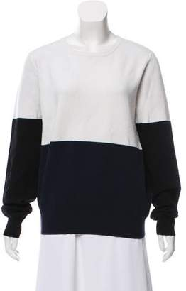 A.L.C. Colorblock Crew Neck Sweater