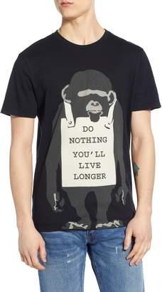 Eleven Paris ELEVENPARIS Do Nothing Banksy Art Graphic T-Shirt