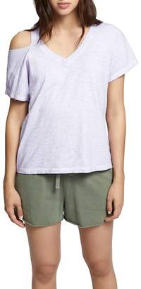 Sanctuary Shoulder Cutout Cotton Top