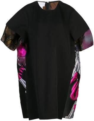 Maison Margiela hybrid jacquard dress