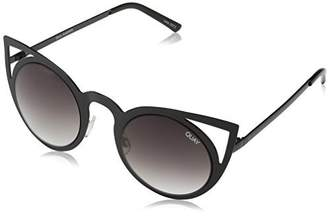 Quay Women's Invader QW-000040-BLK/SMK Butterfly Sunglasses