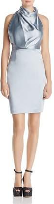 Reiss Rana Draped Satin Dress - 100% Exclusive