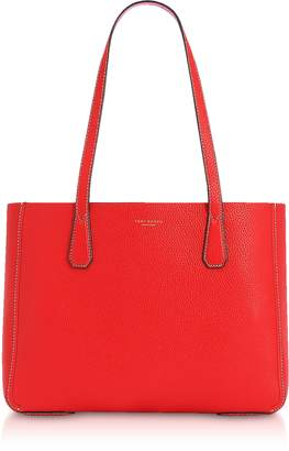 Tory Burch Phoebe Pebbled Leather Mini Tote Bag