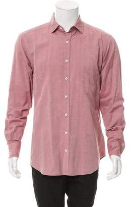Glanshirt Long Sleeve Button-Up Shirt