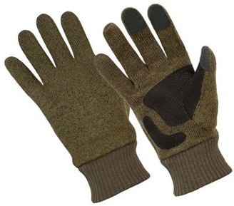 Hands OnTM CT8210, Premium Sweater Fleece Glove, PU Reinforced Palm, Touchscreen Compatible (One Size Fits Most)