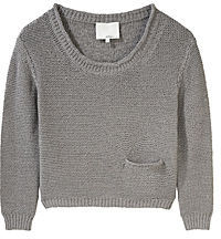 3.1 Phillip Lim Boxy Cropped Pullover