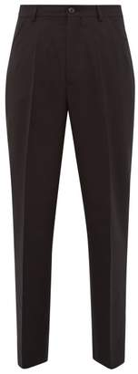 Our Legacy Chino 22 Wool Trousers - Mens - Black
