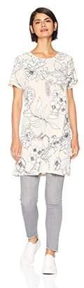 Calvin Klein Women's Short Sleeve Long Tunic