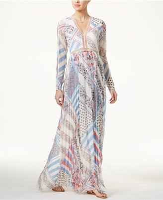 TOMMYXGIGI Silk Printed Maxi Dress $375 thestylecure.com