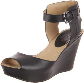 Kenneth Cole Reaction Women's Sole My Heart Wedge Sandal, Leather