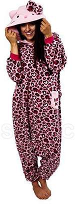 Hello Kitty Sazac Leopard Kigurumi