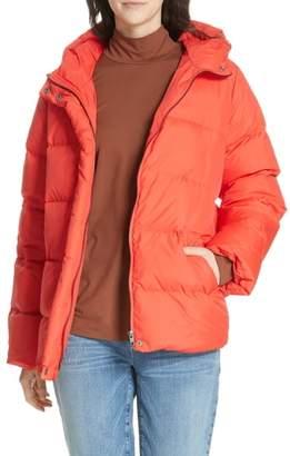Eileen Fisher Hooded Down Jacket