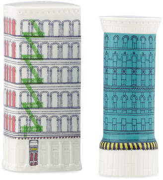Kate Spade Dinnerware, About Town Building Salt and Pepper Shakers