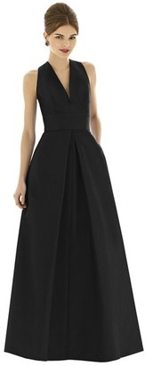 Women's Alfred Sung Dupioni A-Line Gown $212 thestylecure.com