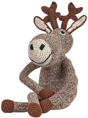 Anne Claire Hand-Crocheted Organic Cotton Moose