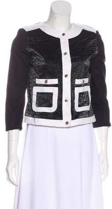 MICHAEL Michael Kors Button-Up Evening Jacket