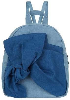 Stella McCartney Blair Denim Bow Backpack