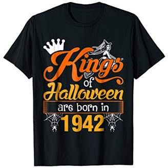Kings of Halloween are Born in 1942 T-Shirt