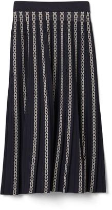 Gemini Link Jacquard Skirt