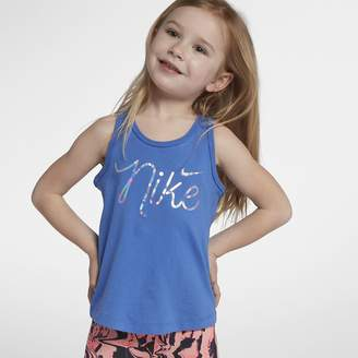 Nike Script Little Kids' (Girls') Tank