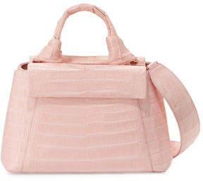 Nancy Gonzalez Crocodile Knot-Handle Mini Tote Bag