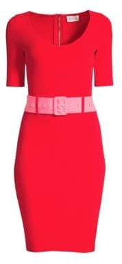Milly Belted Bodycon Dress