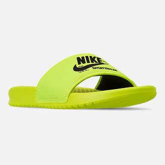 Nike Men's Benassi JDI TXT SE Slide Sandals