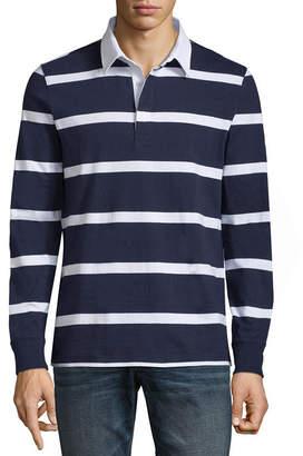 Arizona Long Sleeve Stripe Polo Shirt