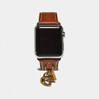 Coach (コーチ) - Apple Watch(r) 38mm レザー ストラップ ウィズ チャーム