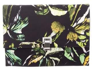 Proenza Schouler Floral Print Lunch Clutch