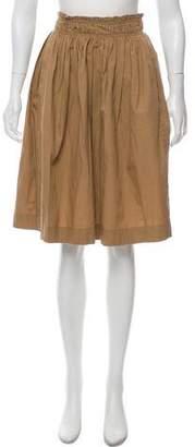 Apiece Apart A-Line Knee-Length Skirt