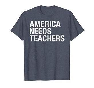 America Needs Teachers Professor Academic Leaders T-Shirt