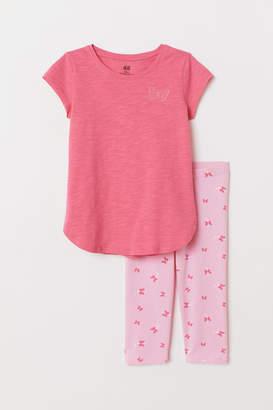 H&M Top and leggings