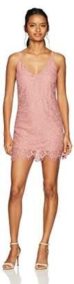 Speechless Lace Slip Dress (Junior's)