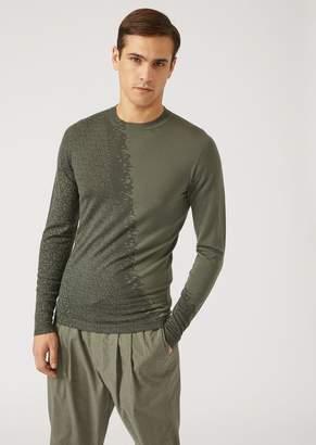 Emporio Armani Cotton Trousers With Logo
