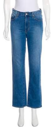 Oscar de la Renta 2018 Mid-Rise Jeans w/ Tags