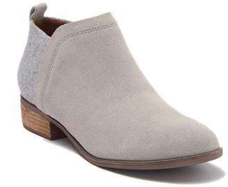 Toms Deia Suede Ankle Bootie